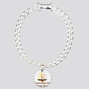 Solo Sailing Charm Bracelet, One Charm
