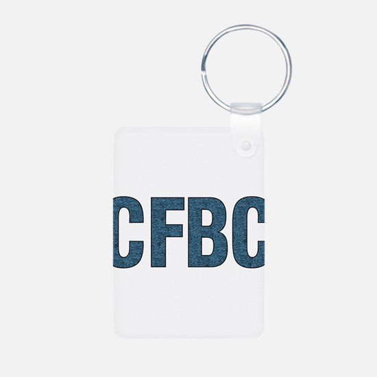 CFBC Blue Logo Keychains