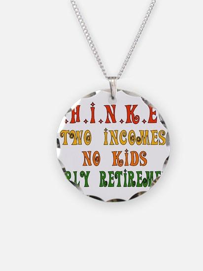 Child-Free Thinker Necklace