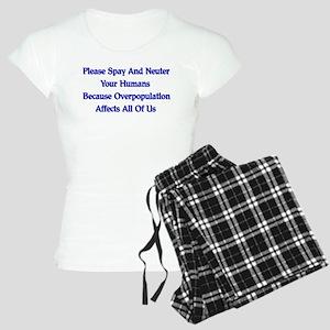 Spay And Neuter Women's Light Pajamas