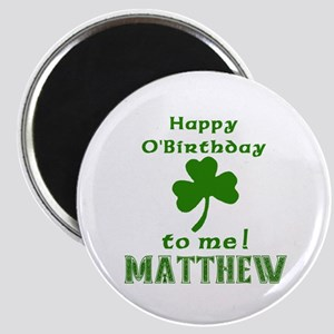 Personalized for Matthew Magnet