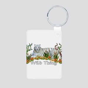 Wild Thing Aluminum Photo Keychain