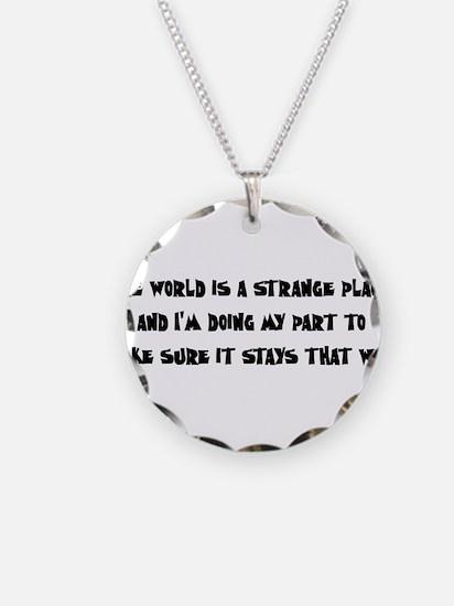 Alien World Necklace
