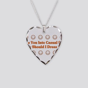 Casual Sex Necklace Heart Charm