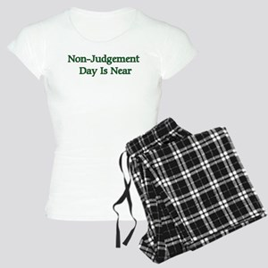 Non-Judgement Day Is Near Women's Light Pajamas