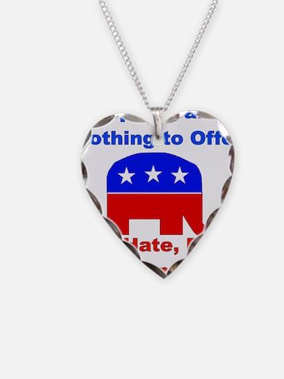 Anti-Republican Necklace