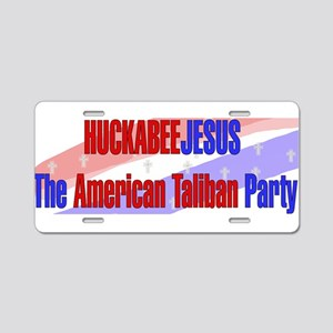Huckabee Jesus Humor Aluminum License Plate