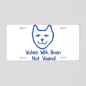 Anti-Palin Voter Aluminum License Plate