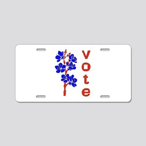 2008 Election Voter Aluminum License Plate