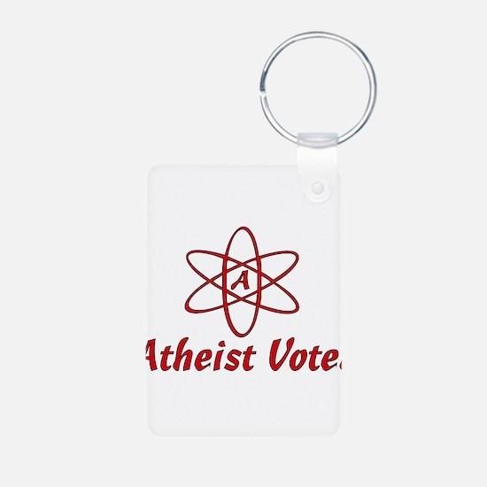 Atheist Voter Keychains