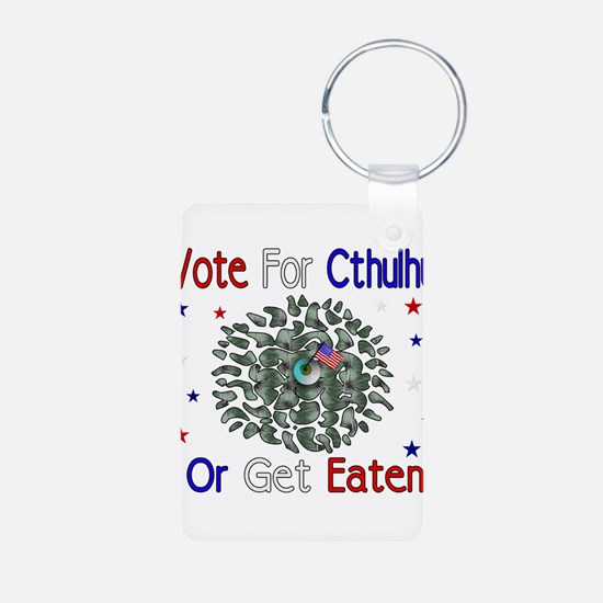 Vote For Cthulhu Keychains