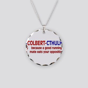 Colbert-Cthulhu Necklace Circle Charm
