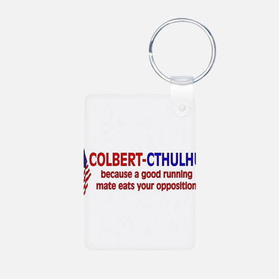 Colbert-Cthulhu Keychains