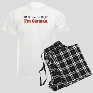 I'm German Men's Light Pajamas