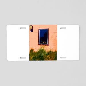 Bay Window Aluminum License Plate