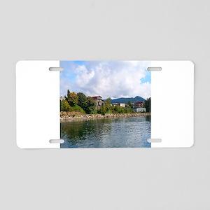 Taylor Street Dock Aluminum License Plate