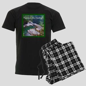 Nooksack Falls Men's Dark Pajamas