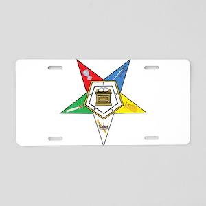 OES Aluminum License Plate
