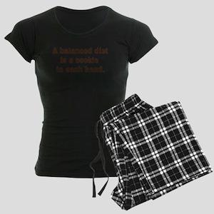 Balanced Diet Women's Dark Pajamas