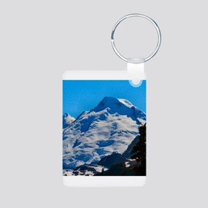 Artist Point Mt. Baker Aluminum Photo Keychain
