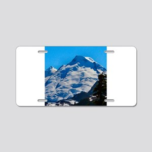 Artist Point Mt. Baker Aluminum License Plate