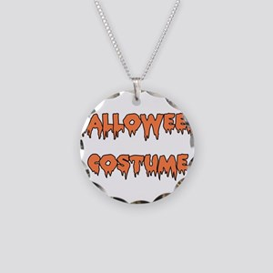 Halloween Costume Necklace Circle Charm