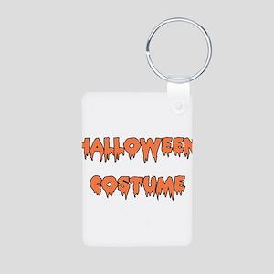Halloween Costume Aluminum Photo Keychain