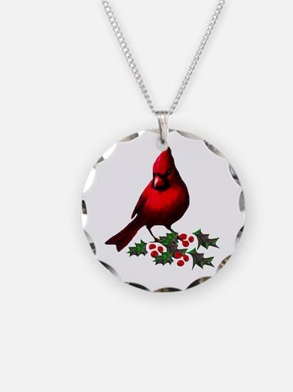 Christmas Cardinal Necklace