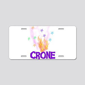 Crone Aluminum License Plate