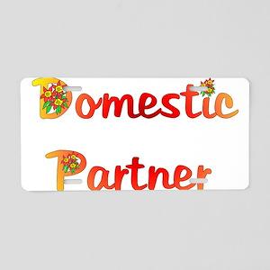 Domestic Partner Aluminum License Plate
