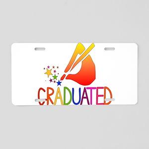 Graduated Aluminum License Plate