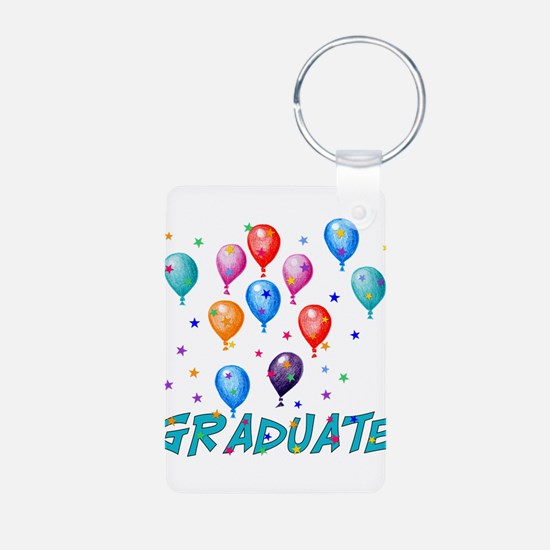 Graduation Balloons Keychains