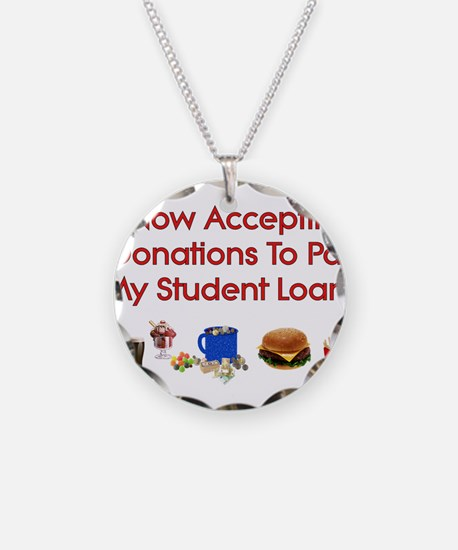 Student Loan Donations Necklace
