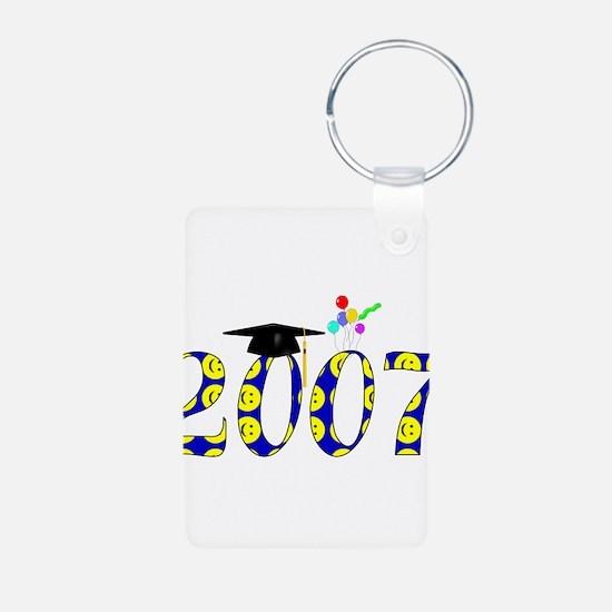 Smiley 2007 Graduate Keychains