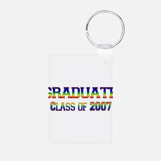 Rainbow Graduate 2007 Keychains