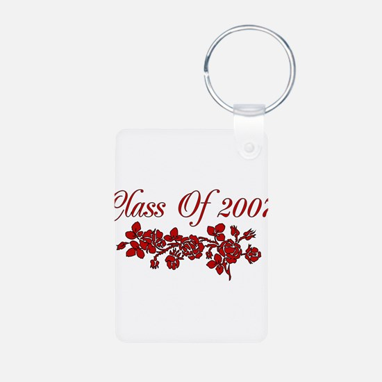 Red Rose 2007 Graduate Keychains