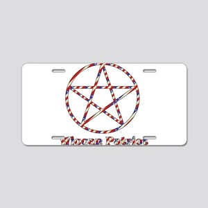 Wiccan Patriot Aluminum License Plate