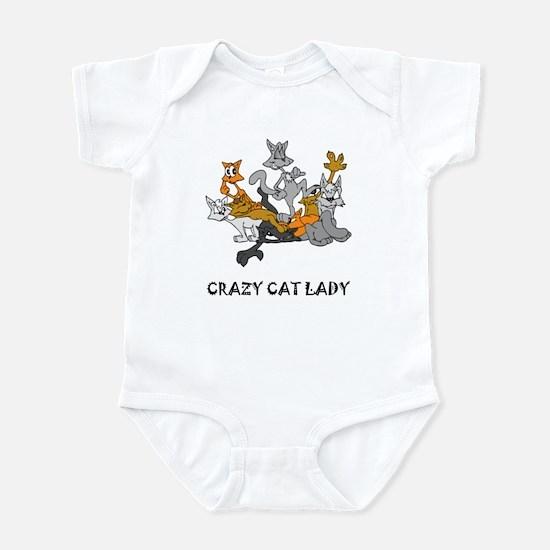 Crazy Cat Lady Infant Creeper