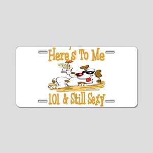 Cheers on 101st Aluminum License Plate