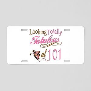 Fabulous 101st Aluminum License Plate