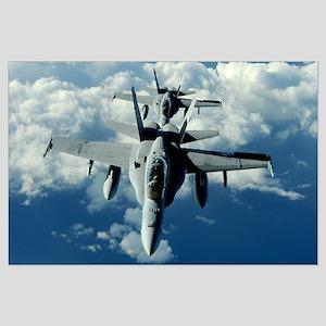 Marine F-18s Large Poster