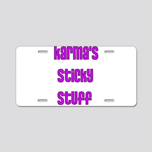 Karma Aluminum License Plate