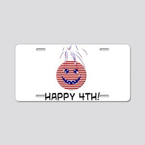 July 4th! Aluminum License Plate