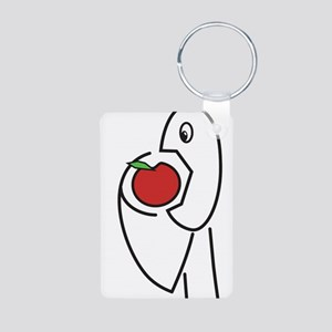 Yummy Fruit Aluminum Photo Keychain