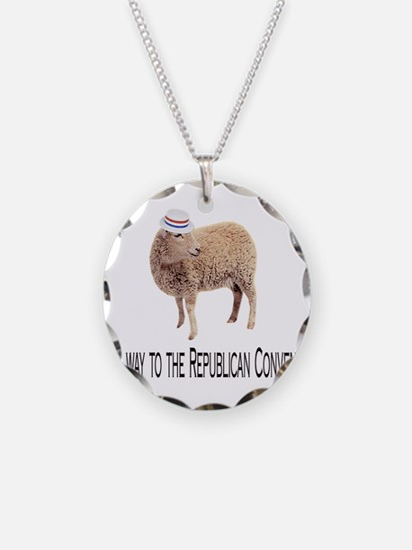 Republican Sheep Necklace