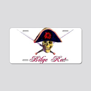 Bilge Rat Aluminum License Plate