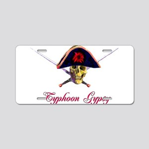 Typhoon Gypsy Aluminum License Plate