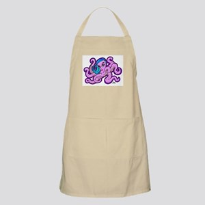 purple ocotopus Apron