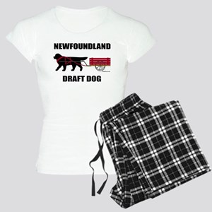 Newfoundland Draft Dog Women's Light Pajamas