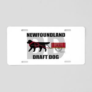 Draft Dog (DD) Aluminum License Plate